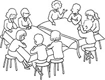 groupe d'enfant